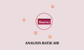 ANALISIS BATIK AIR