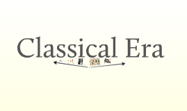 Classical Era - Medicine