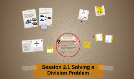 Session 3.1 Solving a Division Problem