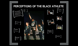 Perception of the Black Athlete