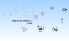 Copy of Kabanata 25: Sa bahay ng Pantas
