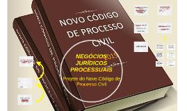 NEGOCIOS JURÍDICOS PROCESSUAIS