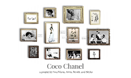 Coco Chanel Fashion - 1954