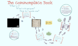 Copy of The Commonplace Book