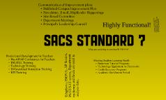 SACS Standard 7