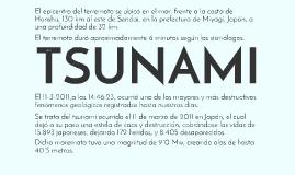 Copy of TSUNAMI