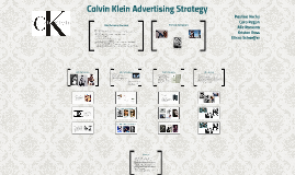 Copy of Calvin Klein Advertising Strategy