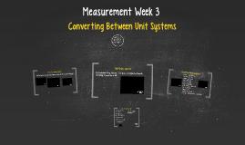 Measurement Day 3