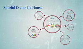 Special Events In-House