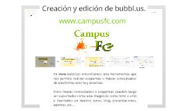 Creación y edición de bubbl.us.