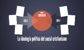 La ideologia politica del social cristianismo