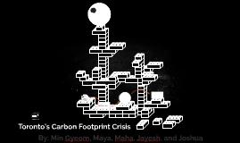 Toronto's Carbon Footpring Crisis