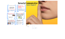 Chapter 4: Nonverbal Communication