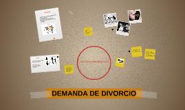 DEMANDA DE DIVORCIO: CAUSAL VIOLENCIA FÍSICA