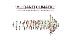 spostamento delle popolazioni e gli effetti climatici che ca