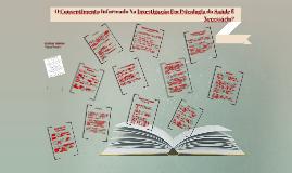 Copy of O Consentimento Informado Na Investigação Em Psicologia da S