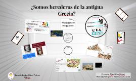 ¿Somos herederos de la antigua Grecia?