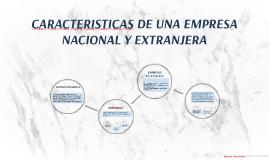 Copy of CARACTERISTICAS DE UNA EMPRESA NACIONAL Y EXTRANJERA