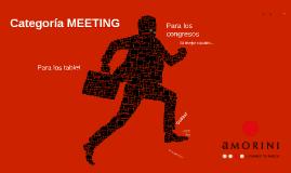 AMORINI PERÚ  - Categoría MEETING