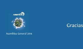 Presentación Asamblea General ASOTER 2014