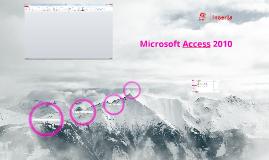 MS Access 2010 Inserta