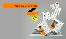 TALLERES LITERARIOS RAÚL