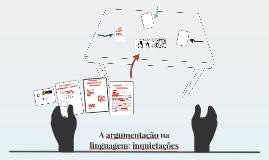 A argumentação na linguagem: inquietações