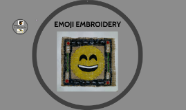 EMOJI EMBROIDERY