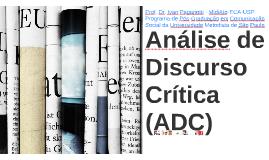 Análise de Discurso Crítica (ADC)