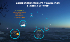 COMBUSTION INCOMPLETA
