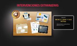 INTERVENCIONES EXTRANJERAS