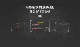 PROGRAMA MESA BRASIL