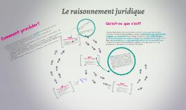LE RAISONNEMENT JURIDIQUE PDF