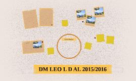 DM LEO L D AL 2015/2016