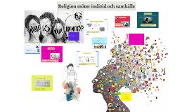 Religion möter individ och samhälle