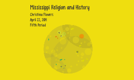 Mississippi Religion and History
