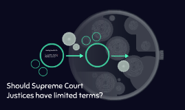 Should Supreme Court Justices have limited terms?