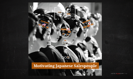 Copy of Motivating Japanese Salespeople
