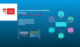 Acceso a la informacion en derechos humanos