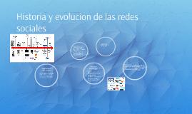 Historia y evolucion de las redes sociales