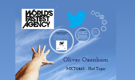 MKTG 465 - The World's Fastest Agency