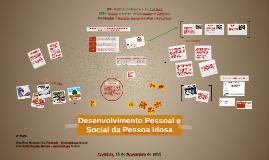 Desenvolvimento Pessoal e Social da Pessoa Idosa