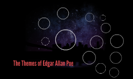 The Themes of Edgar Allan Poe