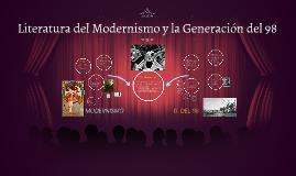 Literatura del Modernismo y la Generación del 98