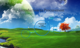 Introduction to Project Procurement