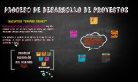 pROCESO DE PROYECTOS