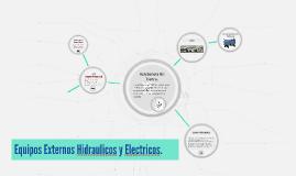 Equipos Externos Hidraulicos y Externos
