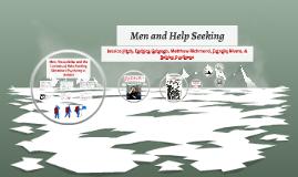 Men and Help Seeking