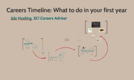 2016-17: MTH Yr 1: Careers Timeline