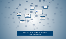 PRUEBAS DE BONDA DE AJUSTE E INDEPENDENCIA